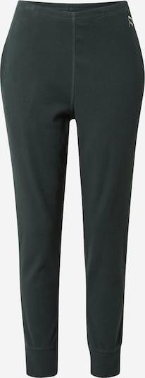 PUMA Παντελόνι φόρμας 'EXHALE' σε κρεμ / σκούρο πράσινο, Άποψη προϊόντος