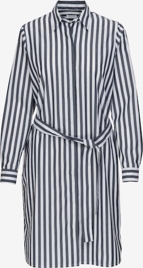SEIDENSTICKER Robe-chemise 'Schwarze Rose' en bleu marine / blanc, Vue avec produit
