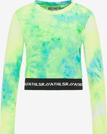myMo ATHLSR Funksjonsskjorte i grønn