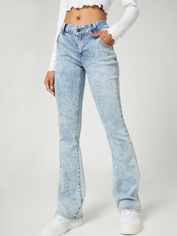 Jeans 'Sandra' di VIERVIER in blu