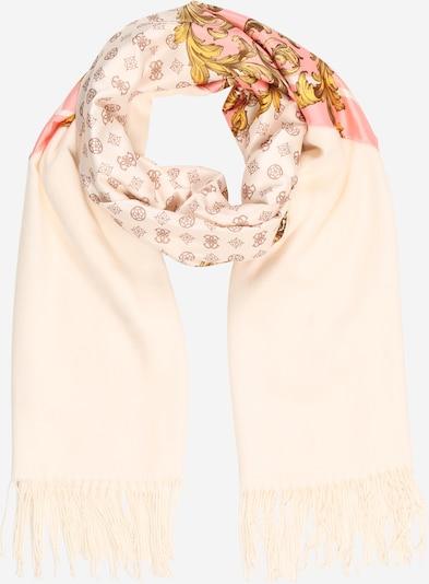 GUESS Sjaal in de kleur Beige / Pink, Productweergave