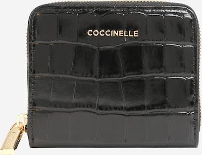 Coccinelle Porte-monnaies 'METALLIC CROCO SHINY SOFT' en noir, Vue avec produit