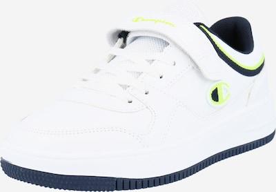 Champion Authentic Athletic Apparel Sneakers 'REBOUND' in de kleur Navy / Geel / Wit, Productweergave