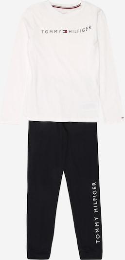 TOMMY HILFIGER Schlafanzug in schwarz / weiß, Produktansicht