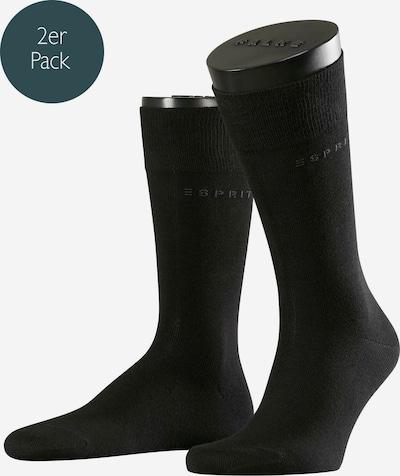 ESPRIT Socken in schwarz, Produktansicht