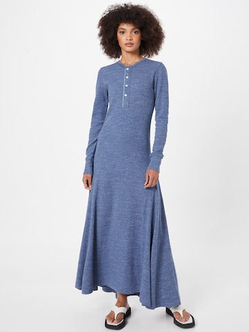 Rochie tip bluză 'Rowie' de la Polo Ralph Lauren pe albastru