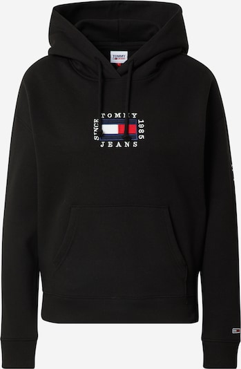 TOMMY HILFIGER Sweatshirt in nachtblau / rot / schwarz / weiß, Produktansicht