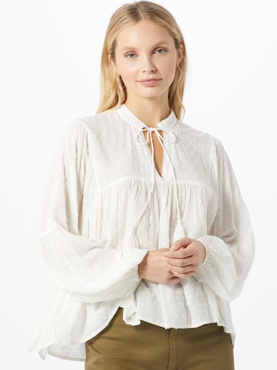 ONLY Bluse in offwhite, Modelansicht
