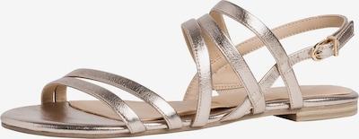 TAMARIS Sandalen met riem in de kleur Goud, Productweergave