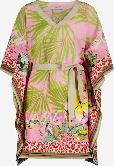 CODELLO Tunic in Lime / Light green / Pink / Red / White, Item view