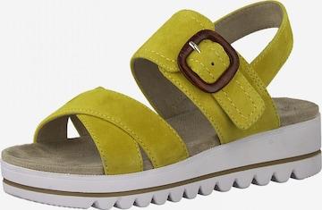 JANA Sandale in Grün