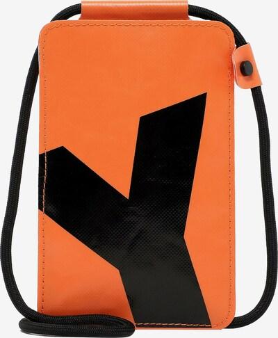 Suri Frey Smarphonehülle 'Jessey-Plane' in orange / schwarz, Produktansicht