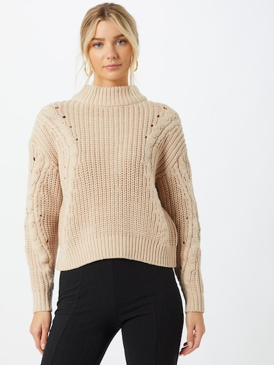 Another Label Pullover 'Danni' i beige: Frontvisning
