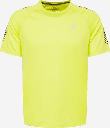 T-Shirt fonctionnel ASICS en jaune