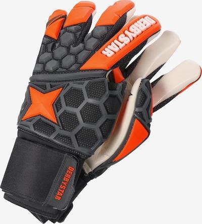 DERBYSTAR Gants de sport 'Hexasoft Pro II' en anthracite / orange, Vue avec produit