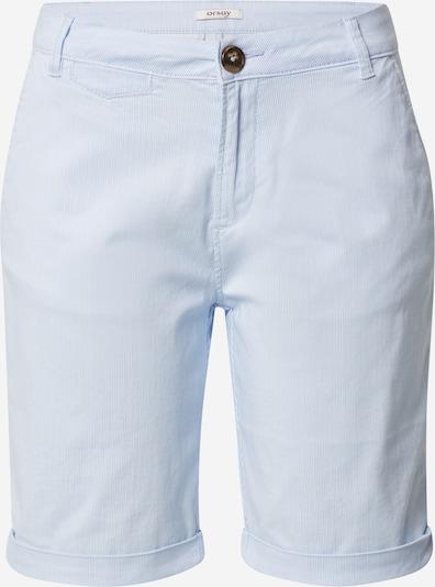 Orsay Chino hlače u svijetloplava / bijela, Pregled proizvoda
