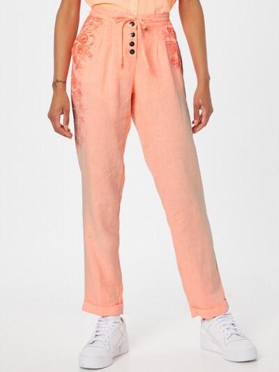 Pantaloni Soccx pe portocaliu / portocaliu homar, Vizualizare model