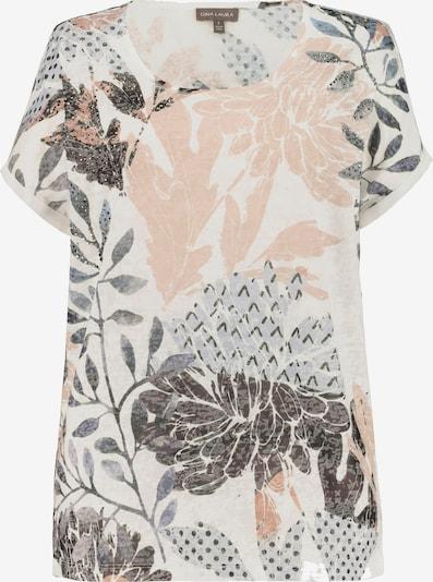 Gina Laura T-Shirt in grau / mischfarben / rosa / schwarz / weiß, Produktansicht