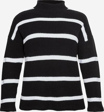SHEEGO Pullover in schwarz / weiß, Produktansicht