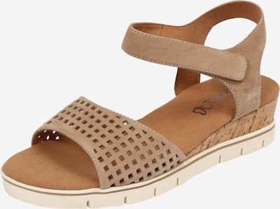 CAPRICE Sandale in beige, Produktansicht