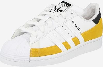 ADIDAS ORIGINALS Sneaker 'SUPERSTAR' in senf / schwarz / weiß, Produktansicht