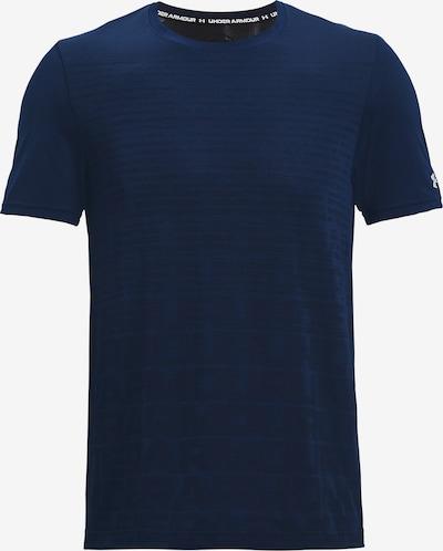 UNDER ARMOUR Функционална тениска в нейви синьо / бяло, Преглед на продукта