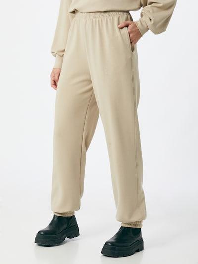Gestuz Hose 'Chrisda' in beige, Modelansicht
