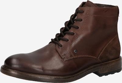 LLOYD Botas con cordones en marrón oscuro, Vista del producto