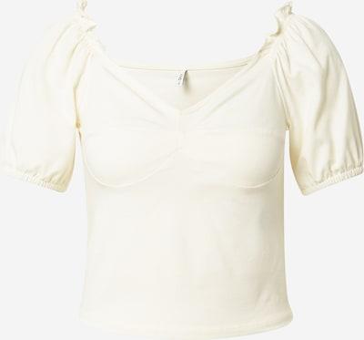 ONLY T-shirt 'NIFF' en blanc naturel, Vue avec produit