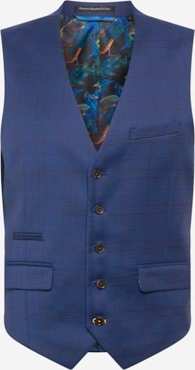 BURTON MENSWEAR LONDON Suit vest in navy / brown, Item view