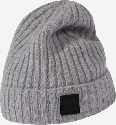 Megzta kepurė iš BOSS , spalva - pilka, Prekių apžvalga