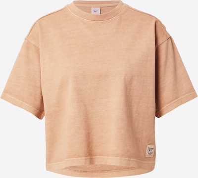 Reebok Sport T-Shirt in hellbraun, Produktansicht