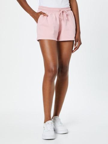 Calvin Klein Jeans Hose '90's HWK TRACK SHORTS' in Pink