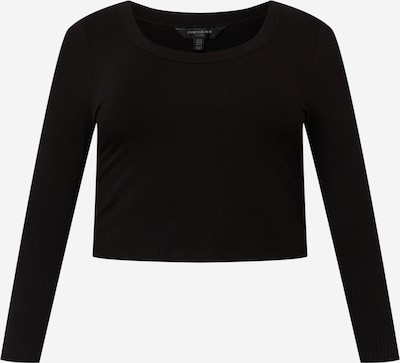 Forever New Curve Camiseta 'Sienna' en negro, Vista del producto
