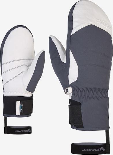ZIENER Skihandschuhe 'KALEA AS(R) AW' in grau, Produktansicht