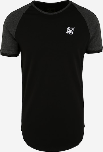 SikSilk Majica 'siksilk s/s advanced tech tee' u siva / crna, Pregled proizvoda