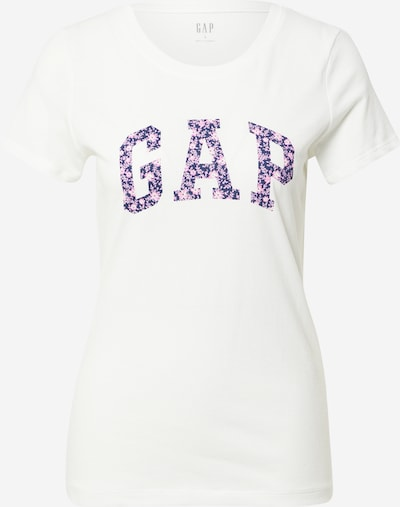 GAP T-shirt en bleu marine / rose / blanc naturel, Vue avec produit