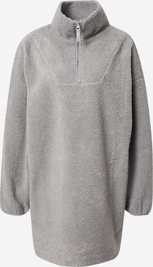 Gina Tricot Fleece Jacket in Grey, Item view