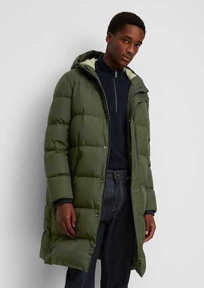 Marc O'Polo Jacke in grün, Modelansicht