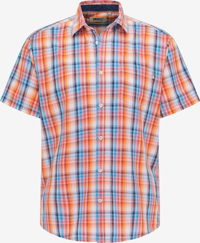PIONEER Chemise en bleu / orange / rouge, Vue avec produit