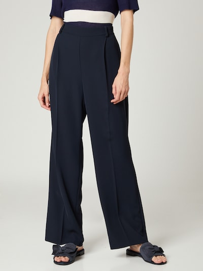 Guido Maria Kretschmer Collection Pleated Pants 'Philine' in Dark blue, View model