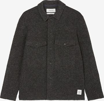 Marc O'Polo DENIM Between-Season Jacket ' in Boiled-Wool-Qualität ' in Black
