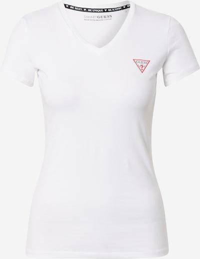 piros / fekete / fehér GUESS Póló, Termék nézet