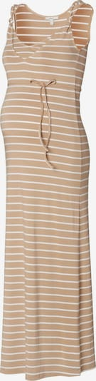 Esprit Maternity Kleid in hellbeige / weiß, Produktansicht