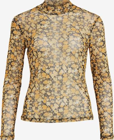 VILA Shirt 'Candas' in gelb / dunkelgelb / schwarz, Produktansicht