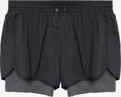 VIOLETA by Mango Shorts 'Kangu' in schwarz, Produktansicht