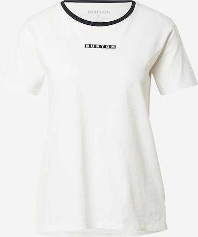 BURTON Функционална тениска в черно / бяло, Преглед на продукта