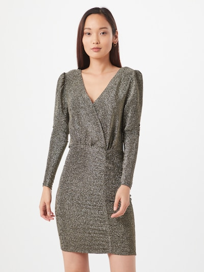 Noisy may Kleid in bronze, Modelansicht
