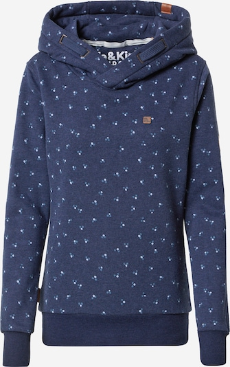 Alife and Kickin Sweatshirt 'Sarina' in marine / hellblau, Produktansicht