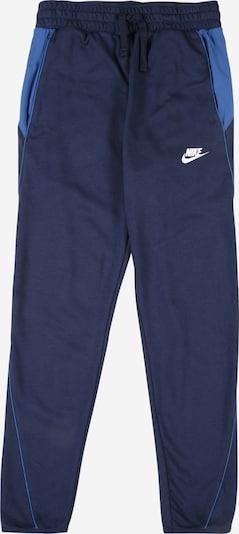 Nike Sportswear Hose in navy / royalblau / weiß, Produktansicht